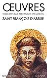 Oeuvres de Saint-François d'Assise par Masseron