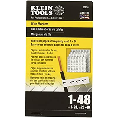 wire-marker-book-1-48-klein-tools