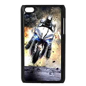 Robo Cop iPod 4 Black Cell Phone Case GSZWLW1401 Cell Phone Case Sports