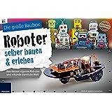FRANZIS Die große Baubox Roboter selber bauen und erleben: Bau Deinen eigenen Roboter und erkunde damit die Welt | Ab 8 Jahren