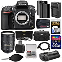 Nikon D810 Digital SLR Camera Body with 28-300mm VR Lens + 64GB Card + 2 Batteries/Charger + Case + GPS Adapter + Grip + Kit Basic Facts Review Image