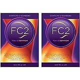 FC2 Female Condom Indicated for Preventing Pregnancy - 6 Latex Condoms