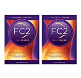 FC2 Female Condom Latex-free Protection from Disease and Pregancy ~6 Condoms
