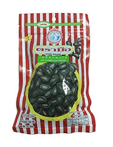 Pungpond Watermelon Seeds Roasted Snack,ready to Eat, Net Wt. 130g.