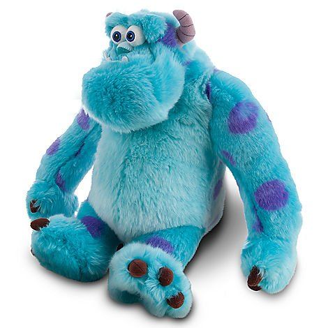 Amazon.com: Disney Monsters Inc. University New Style Plush Doll Set Featuring Sully James P.