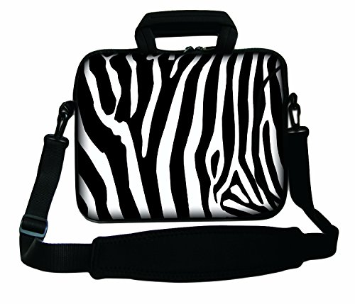 Case And Design Macbook With Zebra For Powerbook Laptop Handle Strap Air Macbook Apple Unibody Notebook Ibook Pro Bag Stripes Sleeve Soft Shoulder Retina Pro Aluminum OFYrI8xFn