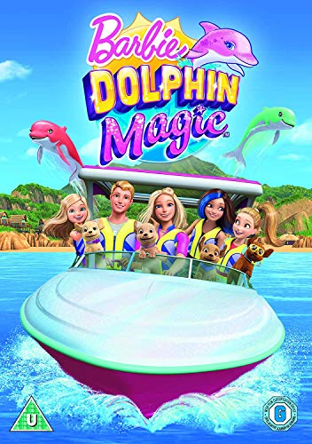 - Barbie: Dolphin Magic (Limited Edition Free Sticker Sheet) [DVD] [2018]