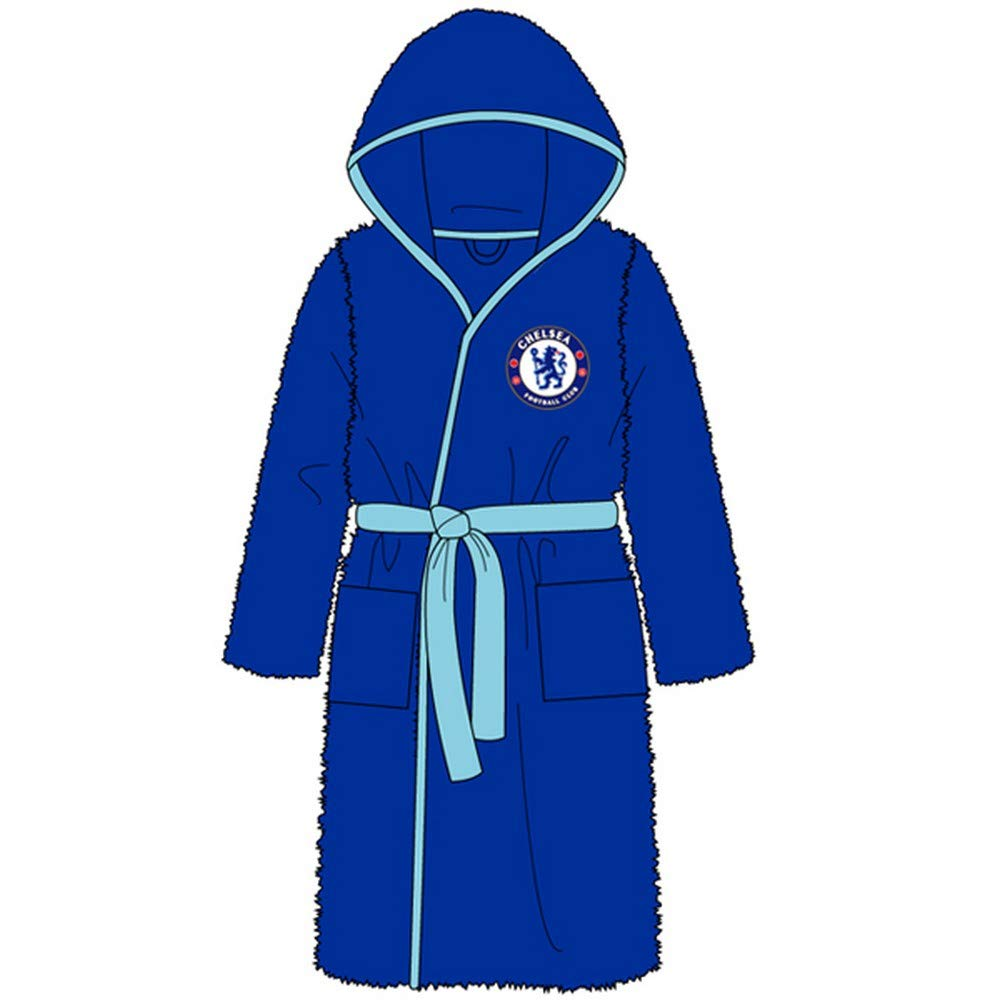 Unisex Football Chelsea Dressing Gown Bathrobe - Small - X-Large WH31005