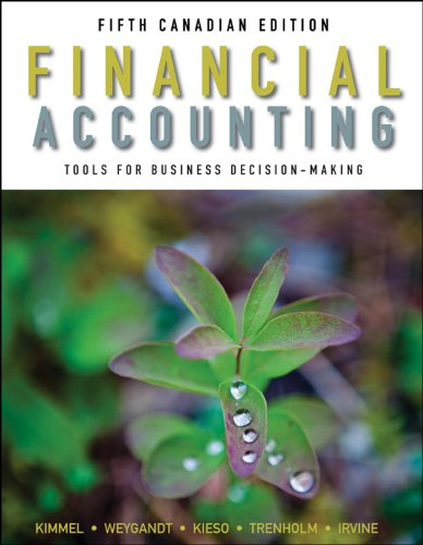 Financial accounting tools for business decision making paul d financial accounting tools for business decision making paul d kimmel jerry j weygandt donald e kieso barbara trenholm wayne irvine 9781118024492 fandeluxe Choice Image