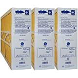 M1-1056 GENUINE ORIGINAL 16x25x5 (Actual Size: 15-3/8 X 25-1/2 X 5-1/4) MERV 11 GOODMAN, ELECTRO-AIR, FIVE SEASONS, CARRIER 16X25 MEDIA FILTERS CASE OF 3, PRIME OEM PRODUCT.