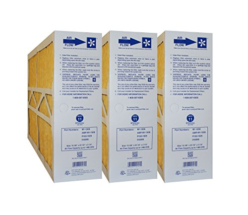 Goodman Furnace Filters - Clean Comfort M1-1056 P102-1625 918395 Size 16x25x5 (Actual size: 15 3/8
