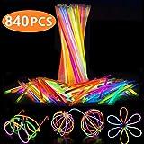 Best Glow Sticks - Attikee 840 PCS Glow Sticks Bulk for Glow Review