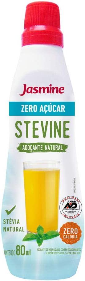 ZERO AÇÚCAR STEVINE ADOÇANTE LÍQUIDO - Frasco 80mL: Amazon.com.br: Alimentos e Bebidas