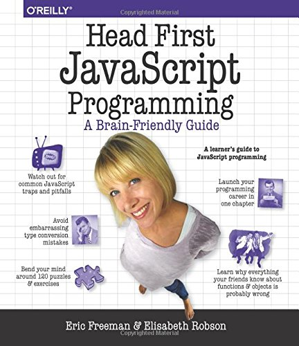 Head First JavaScript Programming: A Brain-Friendly Guide by imusti