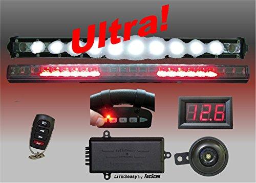 Adjustable Remote Horn - TecScan LiTESeasy Ultra Golf Cart Remote Control Lights & All Signals Kit