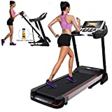 KELAND Folding Treadmill,Electric Running Treadmill Fitness Treadmills Home Gym Equipment Treadmill Running Machine with LED Displays,Home Office Gym Fitness Trainer Equipment(US Stock)
