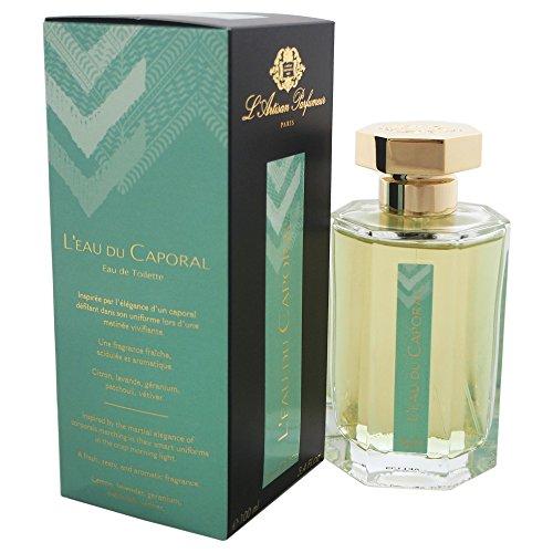 L'Artisan Parfumeur L'eau Du Caporal Eau de Toilette Spray, 3.4 Ounce