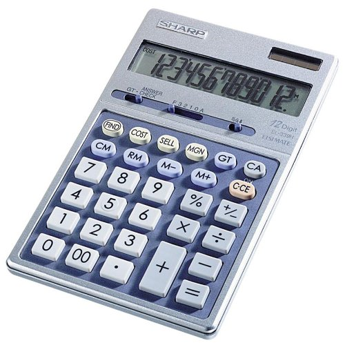 Sharp Semi Desk Executive 12 Digit Calculator