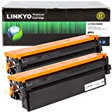 LINKYO Compatible Toner Cartridge Replacement for Canon 046 High Capacity 046H (Black, 2-Pack): more info