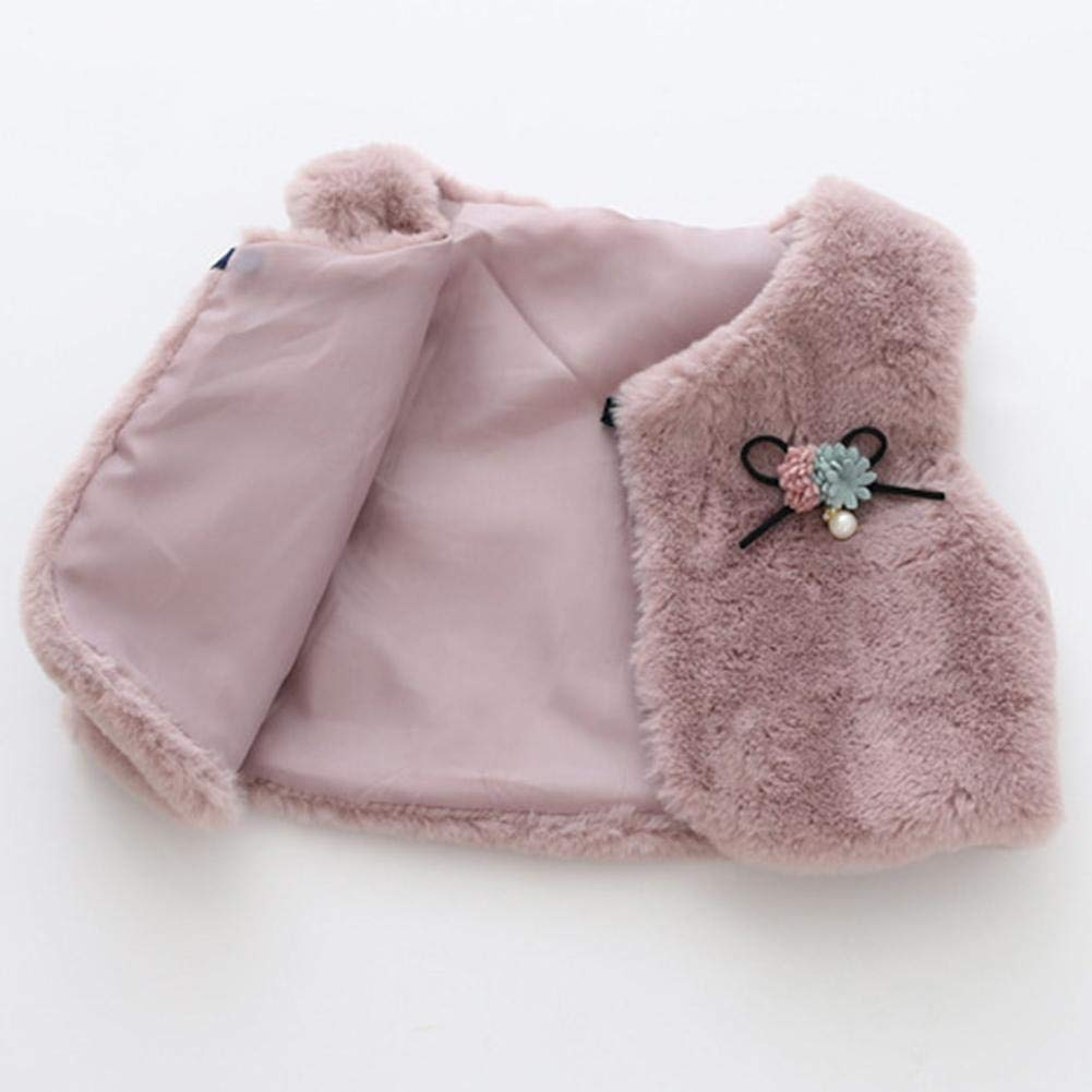 Akaddy Baby Girl Clothes 2 Pezzi 9M-3T Baby Autumn Clothes Set Flower Print Kids Girls Dress Vest Coat
