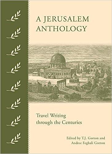 Descarga gratuita de la versión completa de los libros. «A Jerusalem Anthology: Travel Writing Through The Centuries»