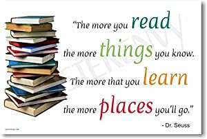 Image result for the more that you read dr seuss
