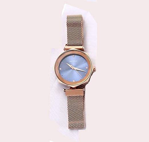 Reloj De Moda para Mujer, Diseño único, Correa Magnética, Reloj ...
