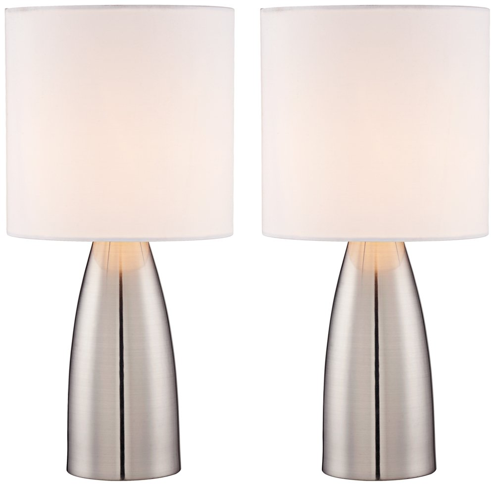 Aron metal touch lamp set of 2 amazon com