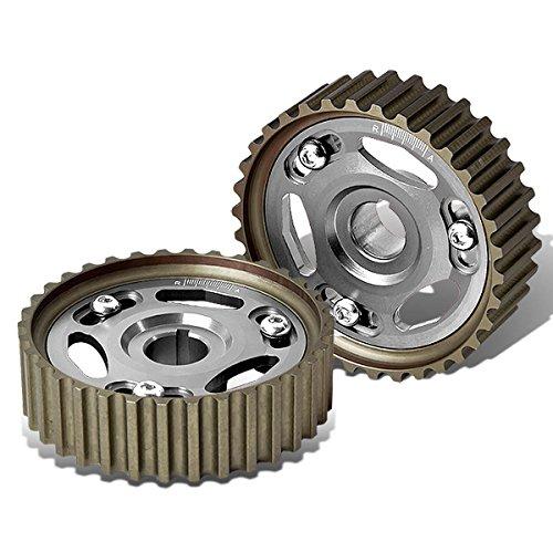 For Honda Civic/Del Sol/CR-V/Acura Integra B-Series Engine Cam Gear (Silver) - B16 B17 B18 B20 (Series Adjustable Cam Gears)