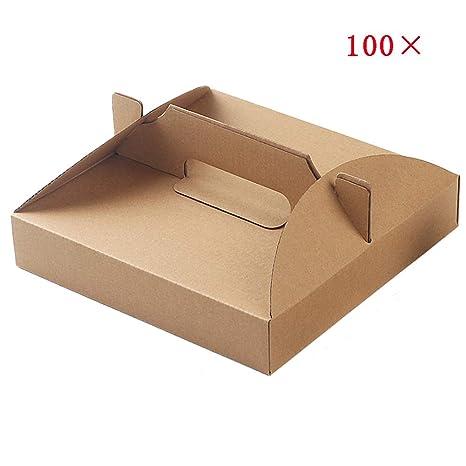 Student supplies Caja de Comida para Llevar de Pizza de 100 ...