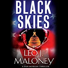 Black Skies Audiobook by Leo J. Maloney Narrated by John Pruden