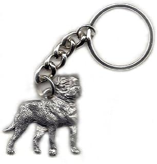 Amazon.com: Airedale Terrier perro Fine peltre Llavero Clave ...