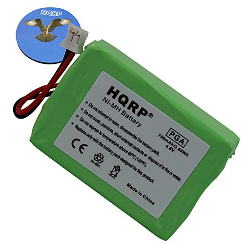 HQRP Battery compatible with Sportdog SportHunter 1200 model SD-1200 SR200-IM SWR/2 Remote Controlled Dog Training Collar Receiver plus Coaster