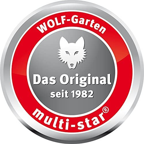 Wolf Gartengeräte Stiel multi-star ZM-AD Multigriff Aluminiumstiel Handgriff