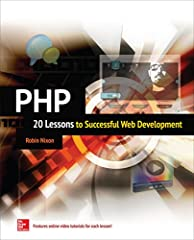 Master PHP in 20 lessons--online video tutorials included! Based on the author's successful online courses, this complete, integrated learning tool provides easy-to-follow lessons that feature clear explanations, sample code and exercises, an...