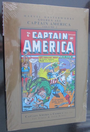 Marvel Masterworks Golden Age Captain America HC Vol 02