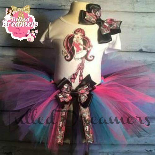 Draculaura Monster High Birthday Tutu Outfit