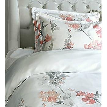Amazon Com Cynthia Rowley New York Peach And Grey Floral