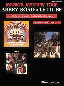 the beatles magical mystery tour abbey road let it be piano vocal guitar. Black Bedroom Furniture Sets. Home Design Ideas