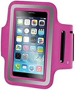 Broadway Armband for iPod Touch 6th Generation - Hot Pink -