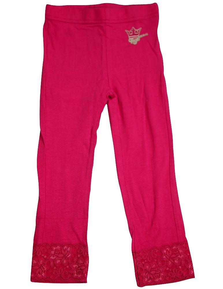 Wild Mango - Big Girls' Punk Princess Lacey Legging, Pink 32130-8