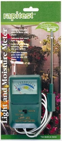 Luster Leaf 1830 Rapitest® Light & Moisture Meter