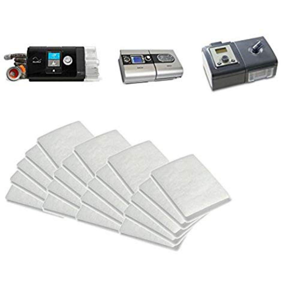 Disposable Filters ResMed Premium (20 Pack) Disposable Universal Replacement Filters for ResMed AirSense 10 - ResMed AirCurve 10 - ResMed S9 - AirStart (20 Pack)