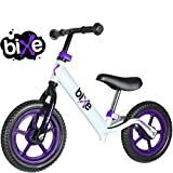 Toys : (4 LBS) Balance Bike for Kids and Toddlers - ALUMINUM Light Weight No Pedals Push and Stride Walking Bicycle (Purple)