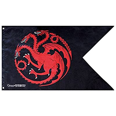 ABYstyle Game Of Thrones drapeau Targaryen mixte adulte, 70 x 120 cm, abydct016