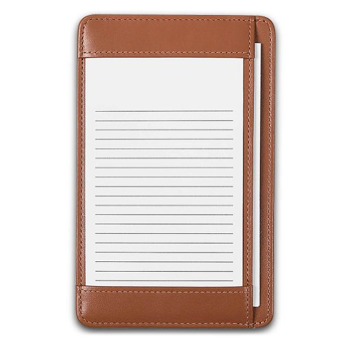 Morgan Pocket Desk Pad Black Ad6780 Bk