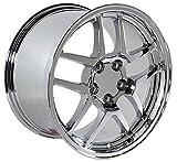 OE Wheels 18 Inch Fits Chevy Camaro Corvette Pontiac Firebird C5 Z06 Style CV04 Chrome 18x10.5 Rim Hollander 5146