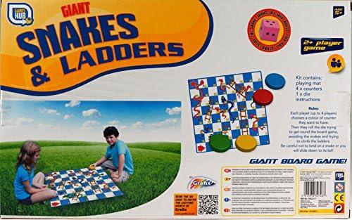 Juego de mesa infantil gigante Snakes and Ladders para jugar al ...