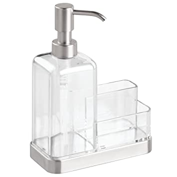 Amazoncom Interdesign Forma Kitchen Caddy With Soap Dispenser Pump