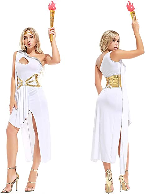 CWZJ Vestidos De Fantasía De Las Mujeres Incluyen Vestidos Blancos ...